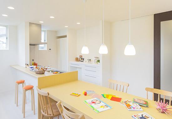 安心・安全で自由度の高い設計が強味の住宅画像